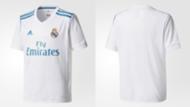 Nuevas camisetas del Real