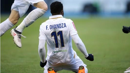 Franck Ohandza Zoa Hajduk Dinamo 18022018