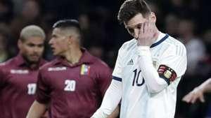 Messi Argentina Venezuela amistoso Wanda
