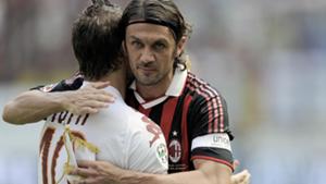 Paolo Maldini Francesco Totti Serie A