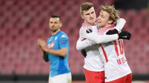 Emil Forberg Timo Werner RB Leipzig Europa League 1502202018