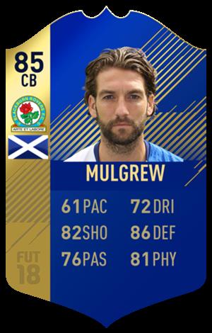 FIFA 18 EFL Team of the Season Mulgrew