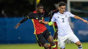 Eliot Matazo Germany Belgium U16 10032018