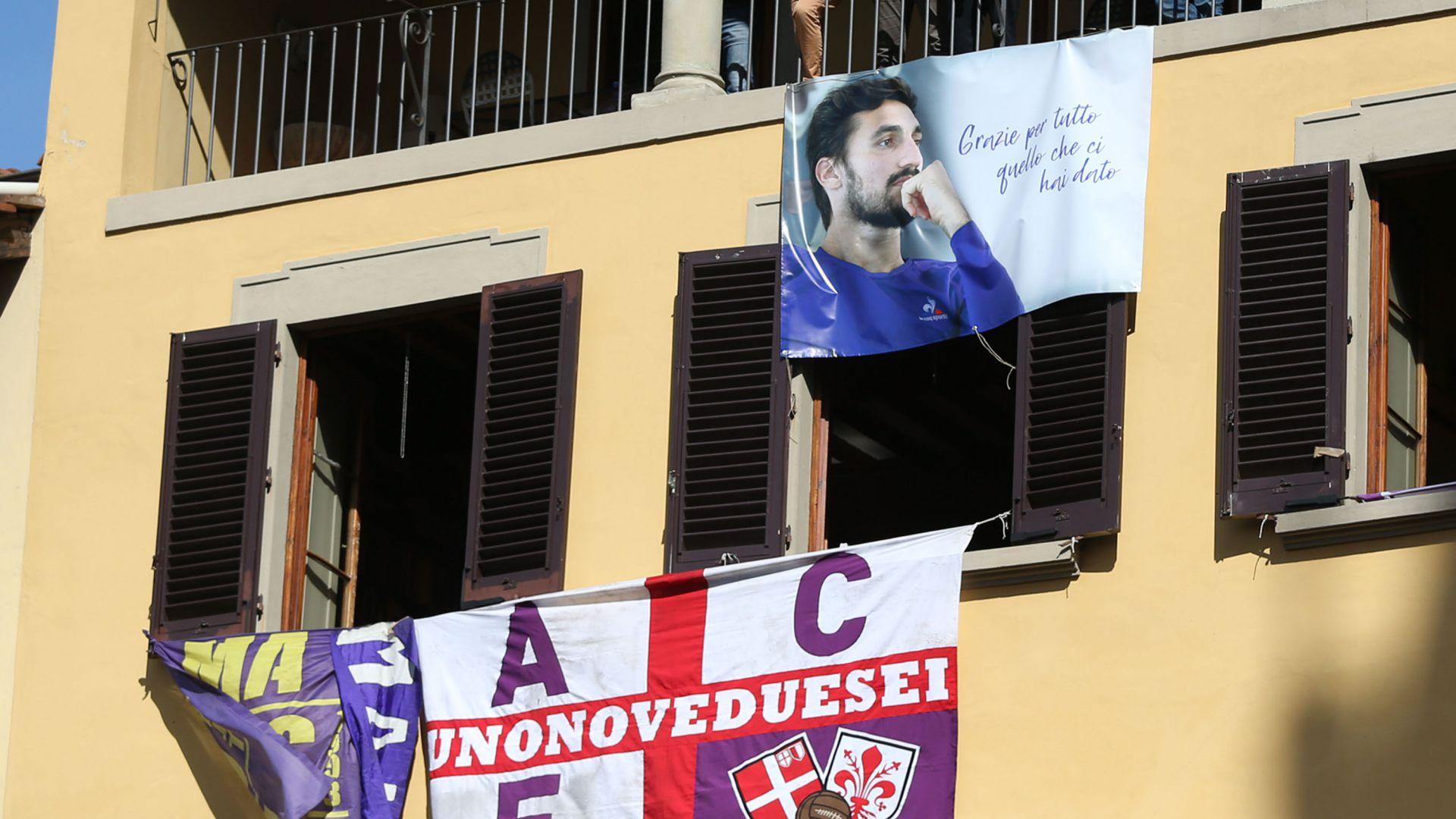 La salma di Davide Astori torna nella sua Firenze