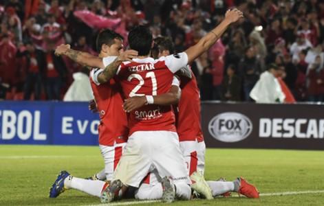 Santa Fe gol Copa Sudamericana 2018