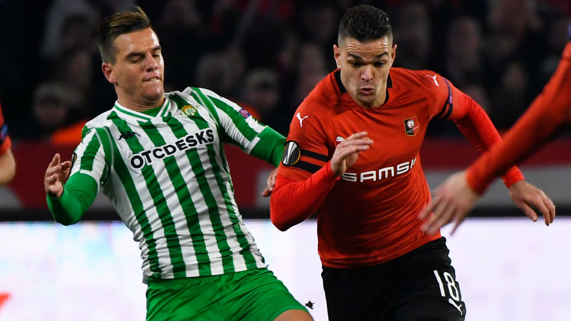 Giovanni Lo Celso Hatem Ben Arfa Rennes Betis UEFA Europa League 14022019