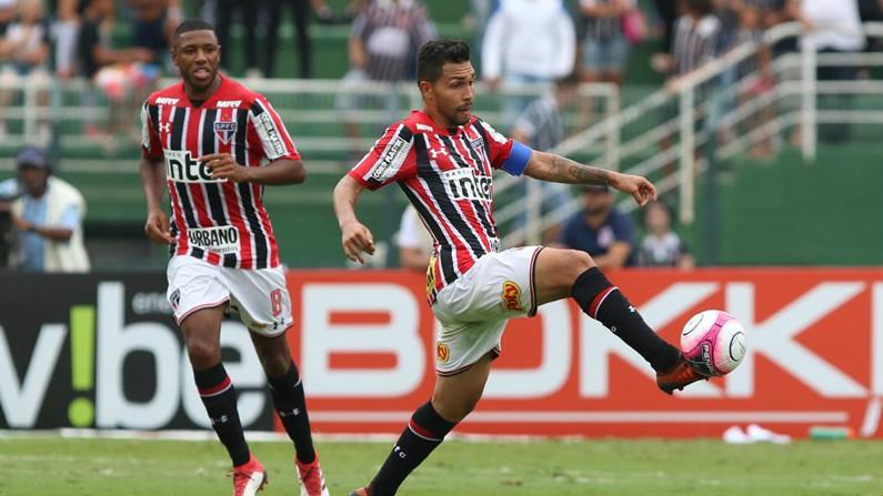 Petros e Jucilei - São Paulo x Corinthians - 27/01/2018