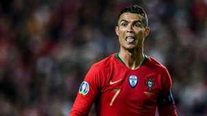 Cristiano Ronaldo Portugal Ukraine Euro 2020 qualifying 03222019