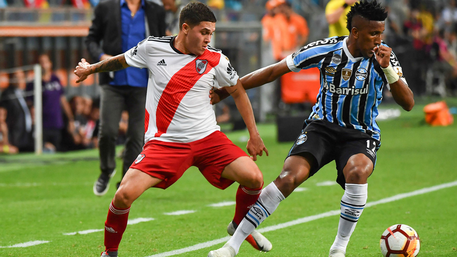 Juan Fernando Quintero Cortez Gremio River Copa Libertadores 30102018
