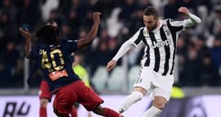 Gonzalo Higuain Juventus Genoa Serie A