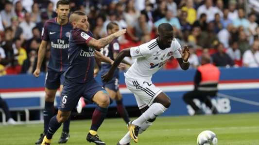 Marco Verratti Tanguy Ndombele PSG Amiens Ligue 1 05082017