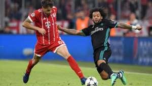 Javi Martinez Marcelo Bayern Munich Real Madrid UCL 25042018