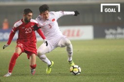 U23 Việt Nam vs U23 Syria, Văn Hậu