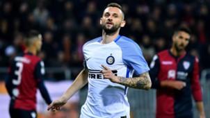 Marcelo Brozovic Cagliari Inter Serie A 11252017