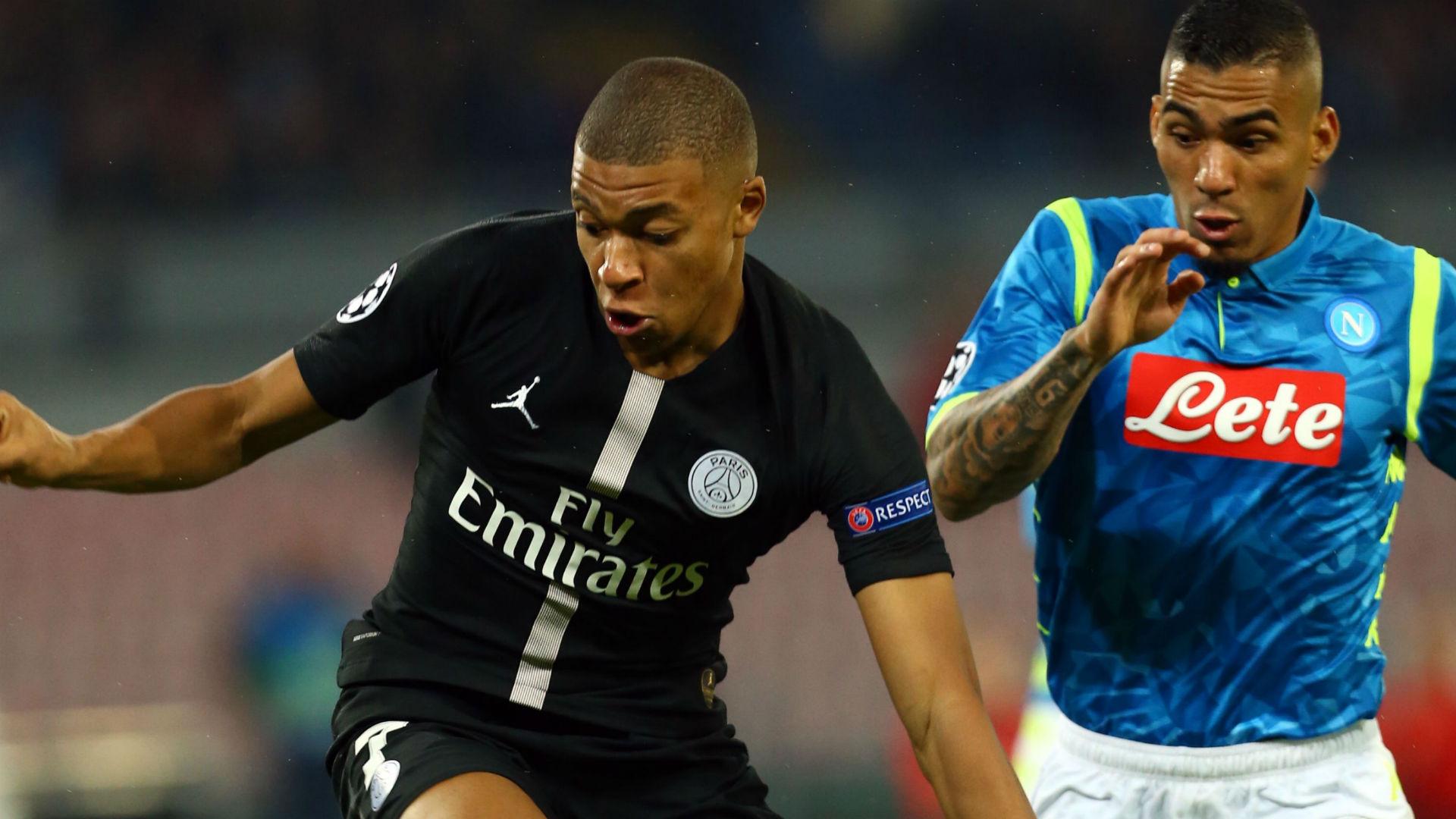 Allan Mbappe Napoli PSG Champions League
