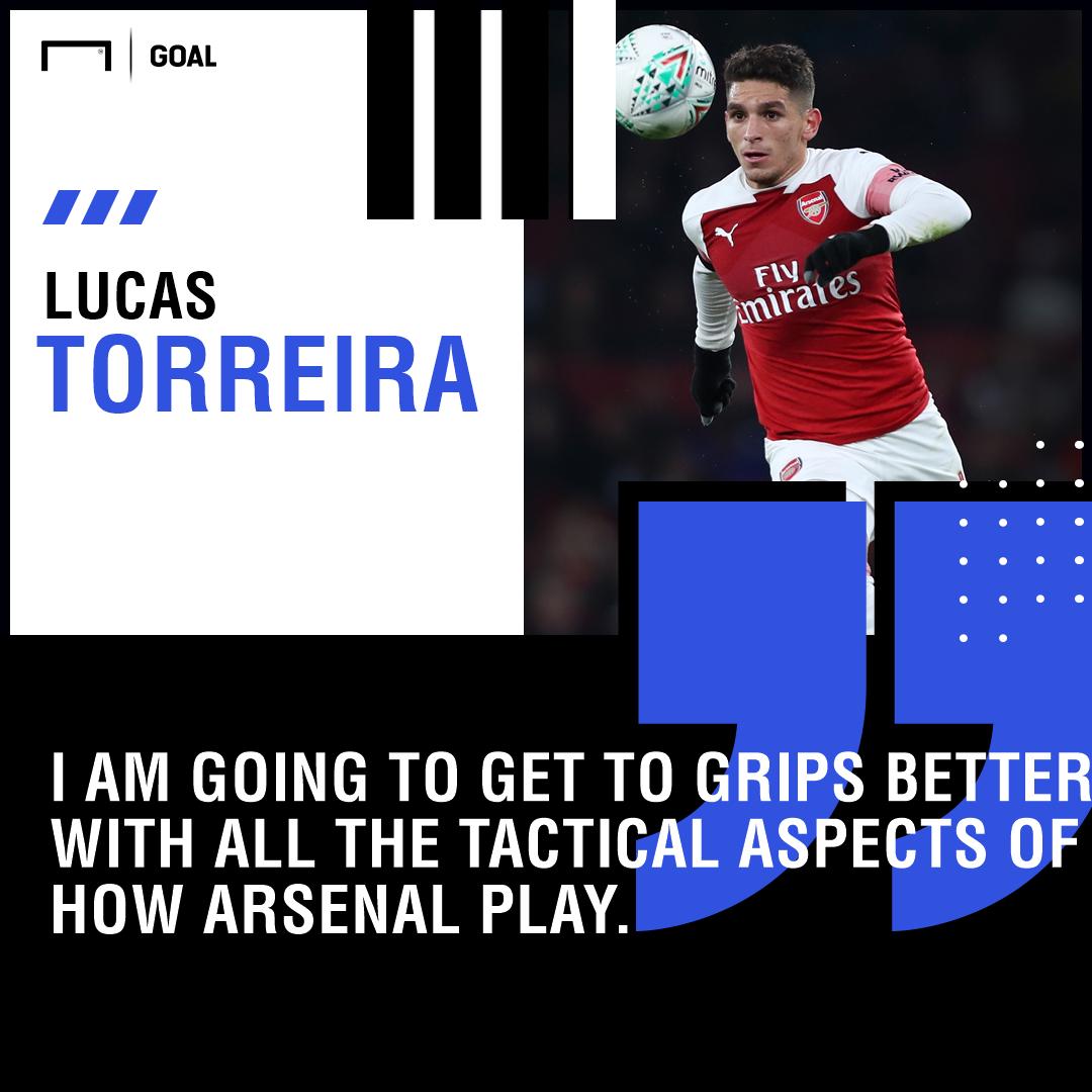 Lucas Torreira quote GFX
