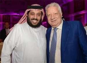 مرتضى منصور - تركي آل الشيخ