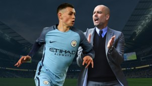 GFX Phil Foden Pep Guardiola