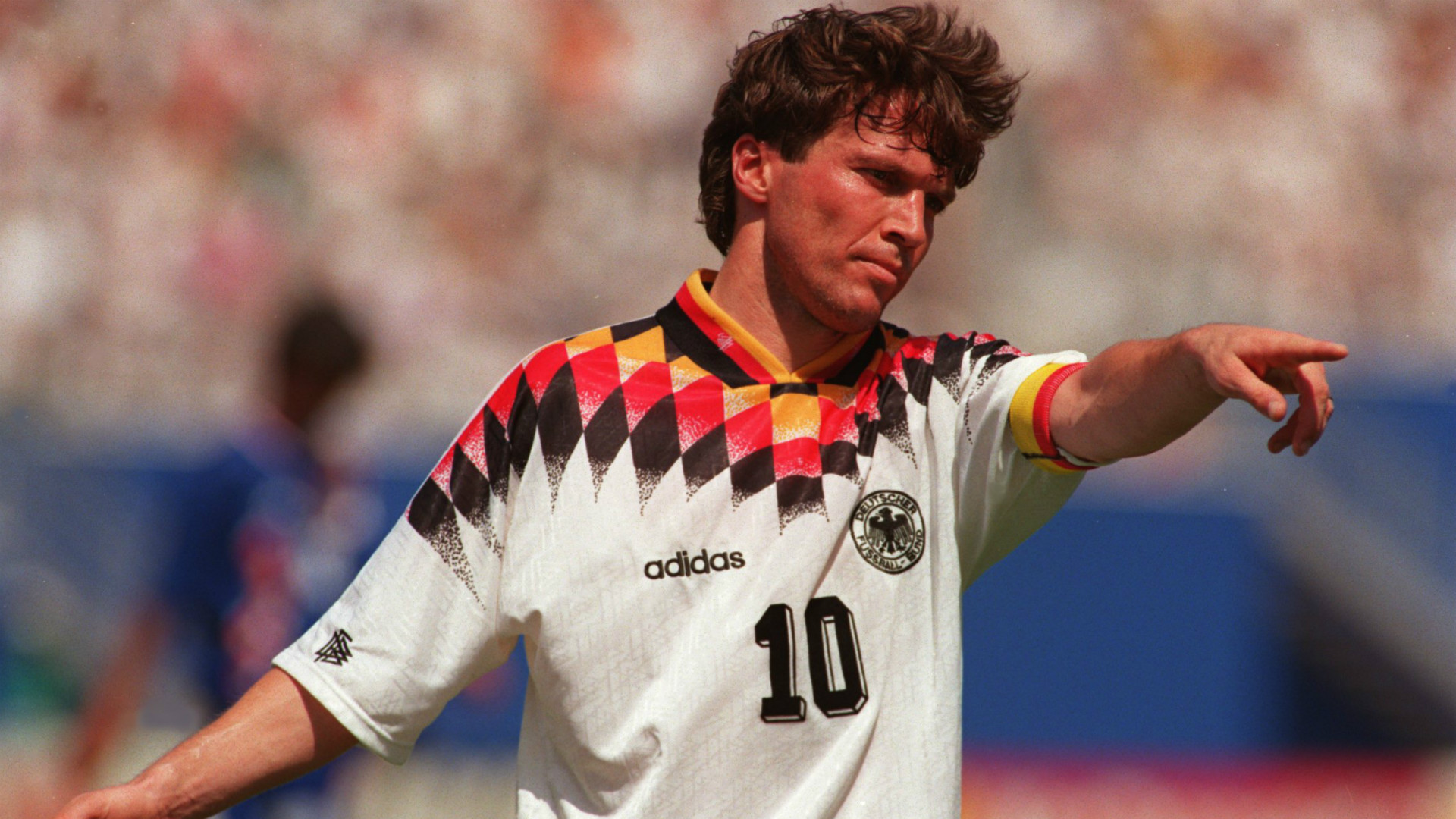 Lothar Mathaus Germany FIFA World Cup 1994
