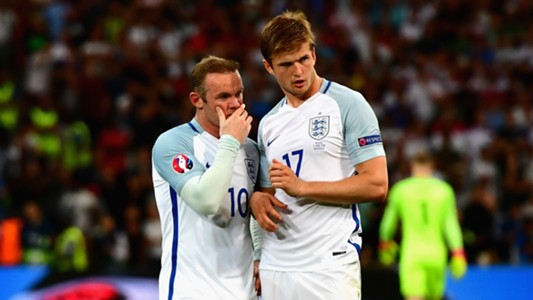 Wayne Rooney, Eric Dier, England