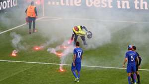 Croatia Crowd Trouble Euro 2016 Group D Czech Republic