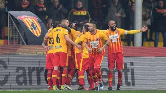 Benevento celebrating Nicolas Viola