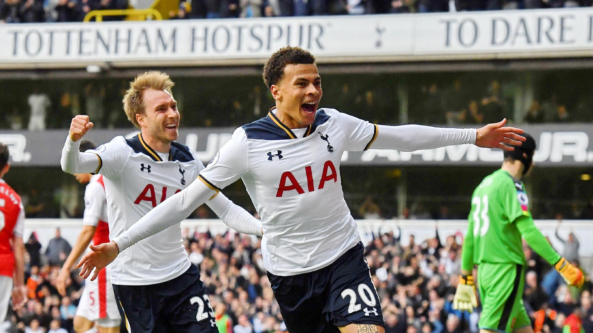 Dele Alli Christian Eriksen Tottenham Arsenal Premier League