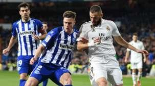 Karim Benzema Real Madrid vs Alaves La Liga 2018-19