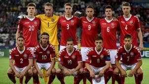 Denmark U21 team, U21-EM Poland, 21062017