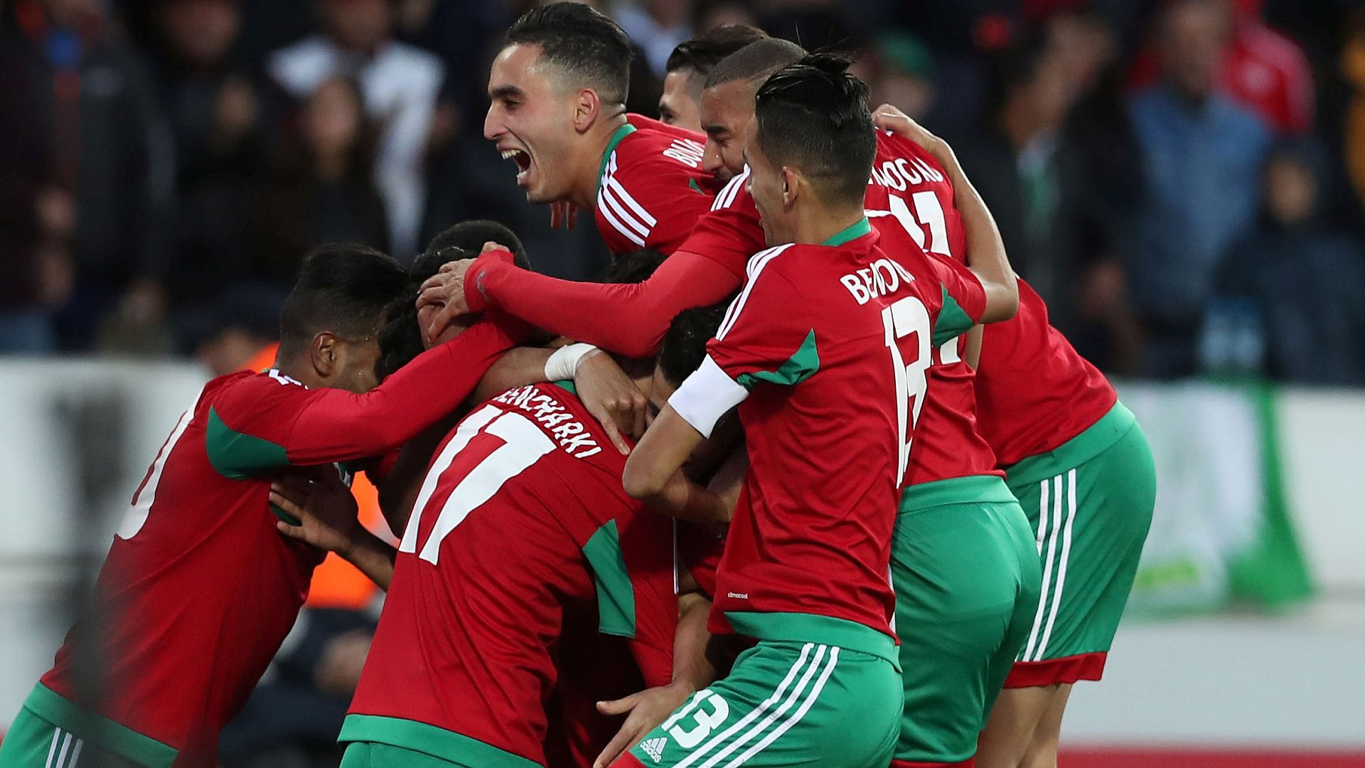 Image result for Morocco Vs Nigeria: CHAN 2018 Finals - 4 - 0