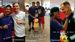 collage Neymar barcelona