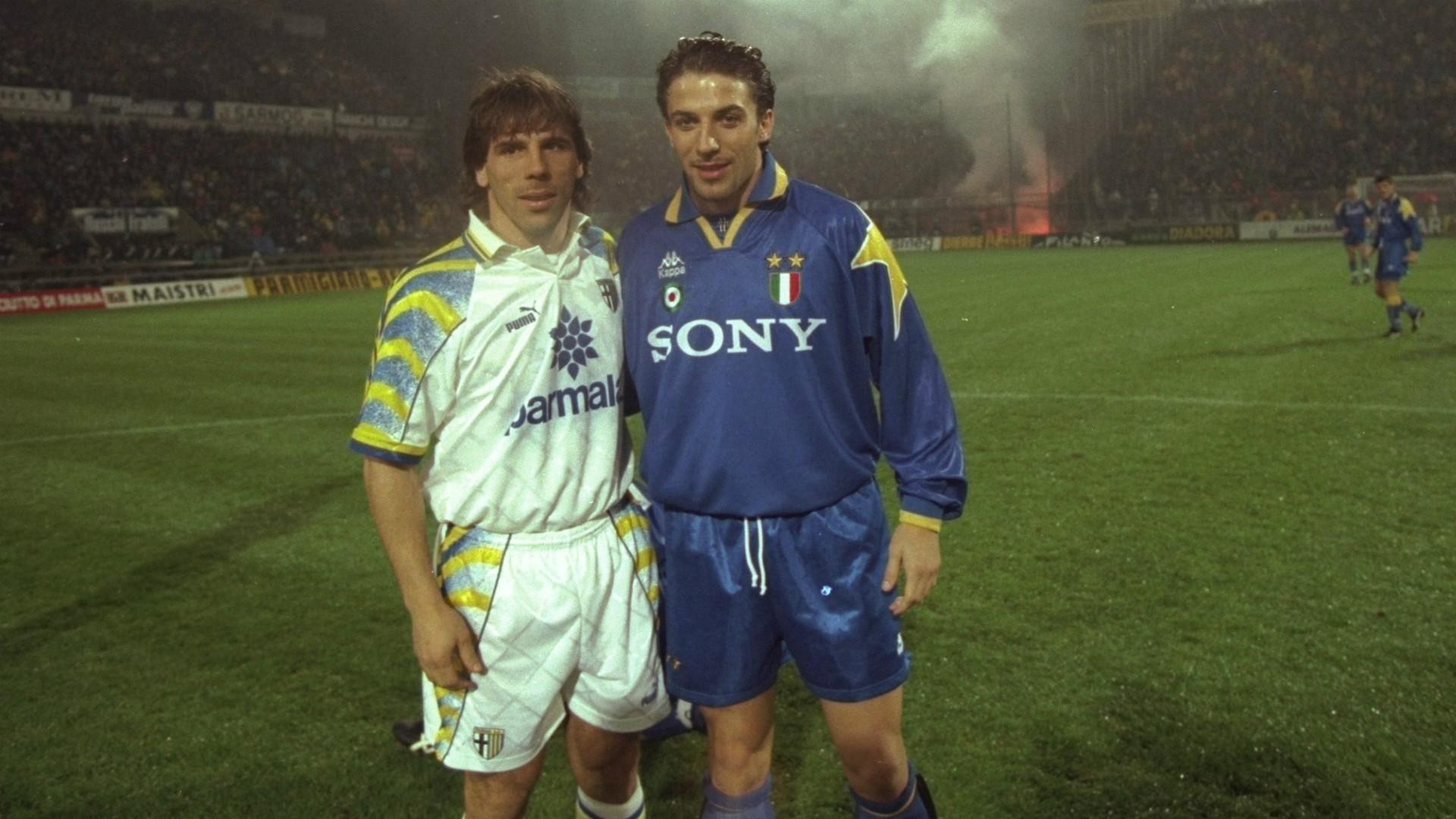 Gianfranco Zola Alessandro Del Piero 1995