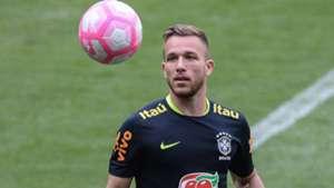 Arthur  treino Seleção Brasil 09 10 2017