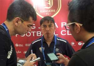 UiTM FC head coach Wan Mustaffa Wan Ismail 14/2/2017