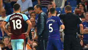 Maurizio Sarri Chelsea vs Burnley Premier League 2018-19