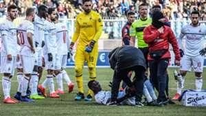 Milan, Zapata finisce ko: lesione al bicipite femorale