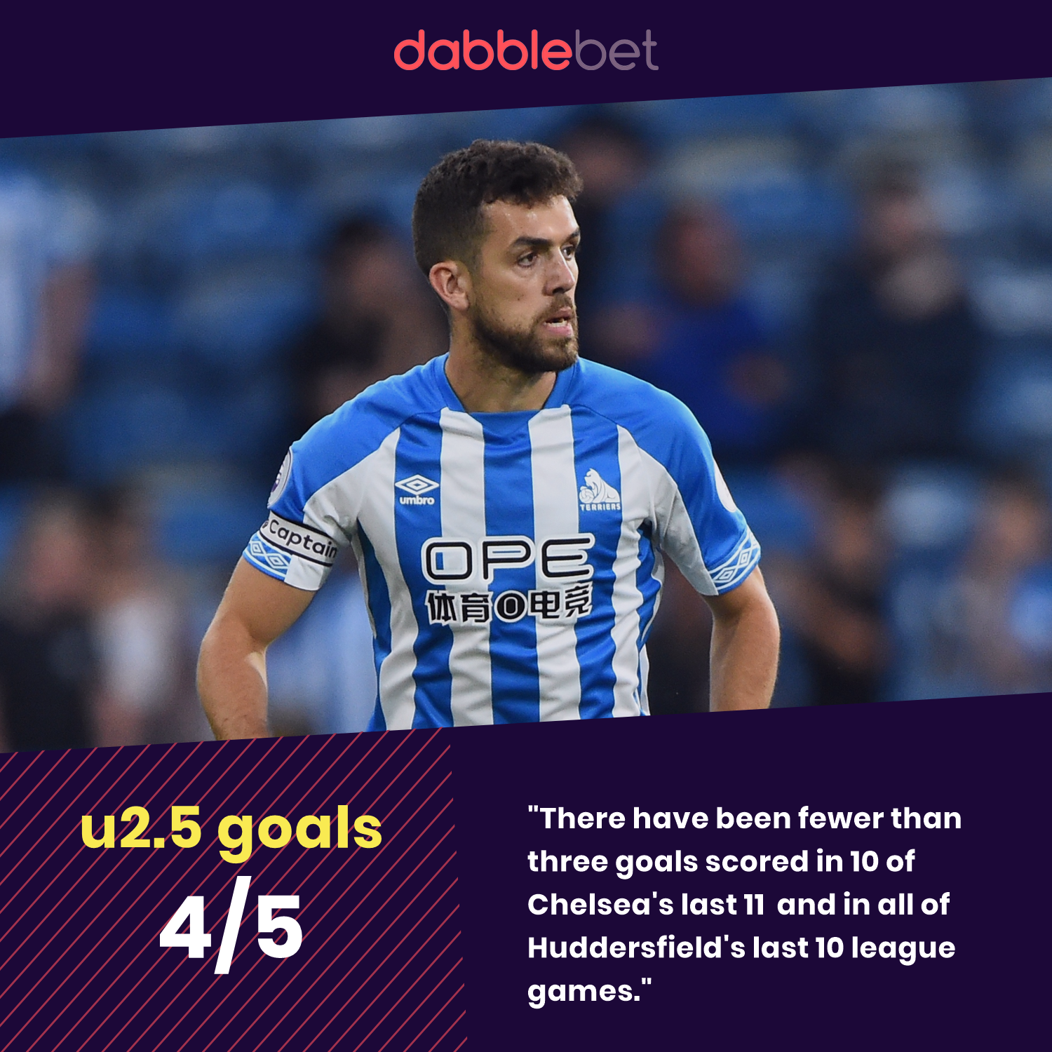 Huddersfield Chelsea graphic