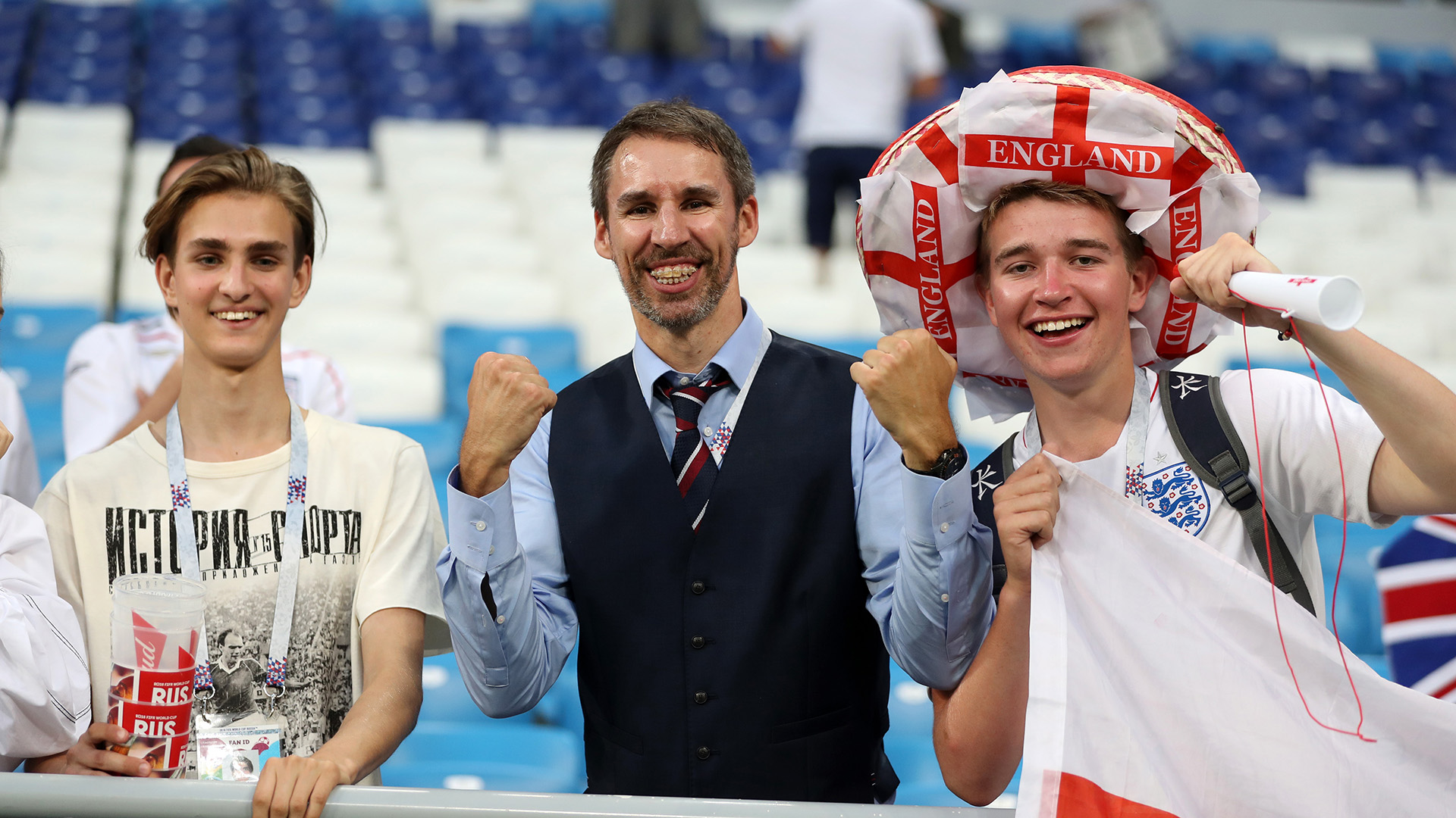 England fans Gareth Southgate lookalike World Cup 2018