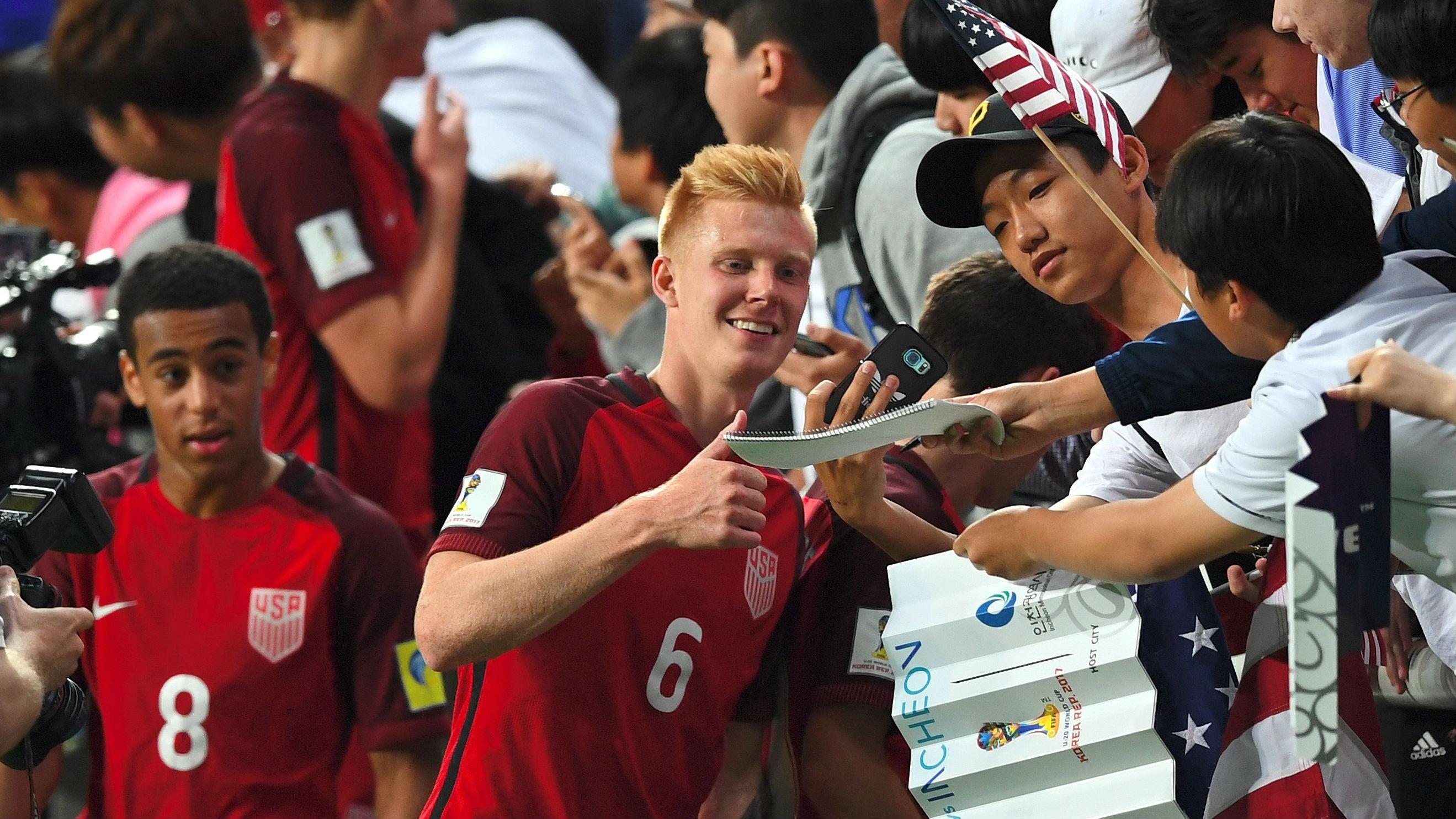 Justen Glad USA U-20