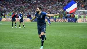 Adil Rami Francia Croacia France Croatia World Cup 2018