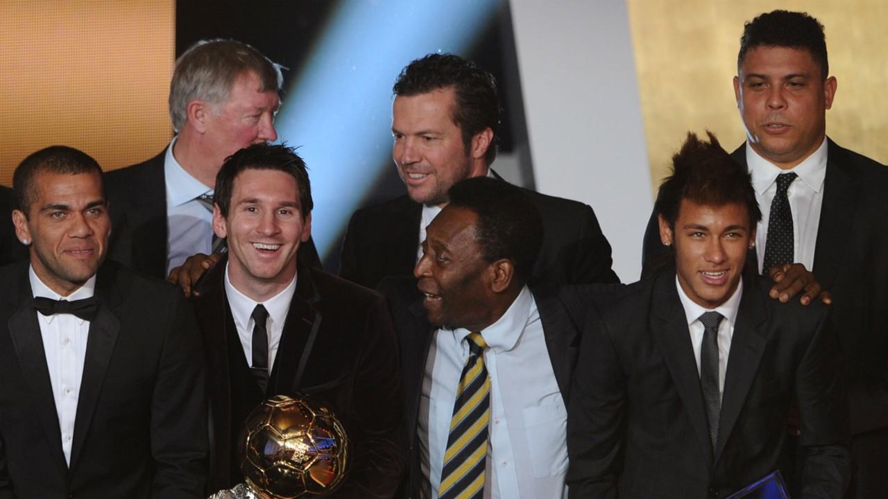 Pelé désigne ''le joueur le plus complet»