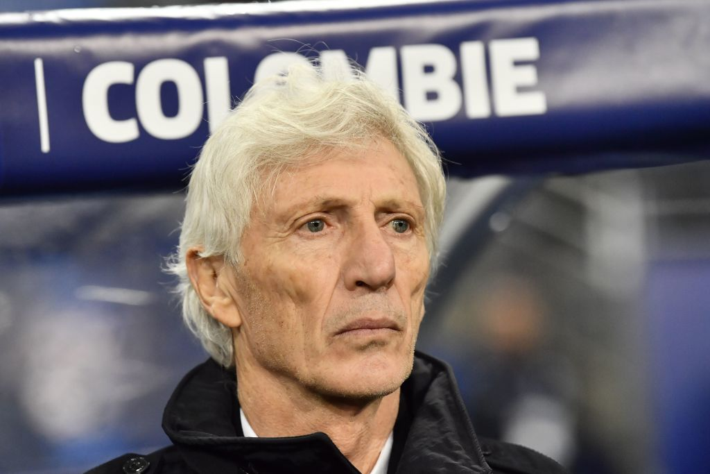 José Pekerman Colombia vs Francia