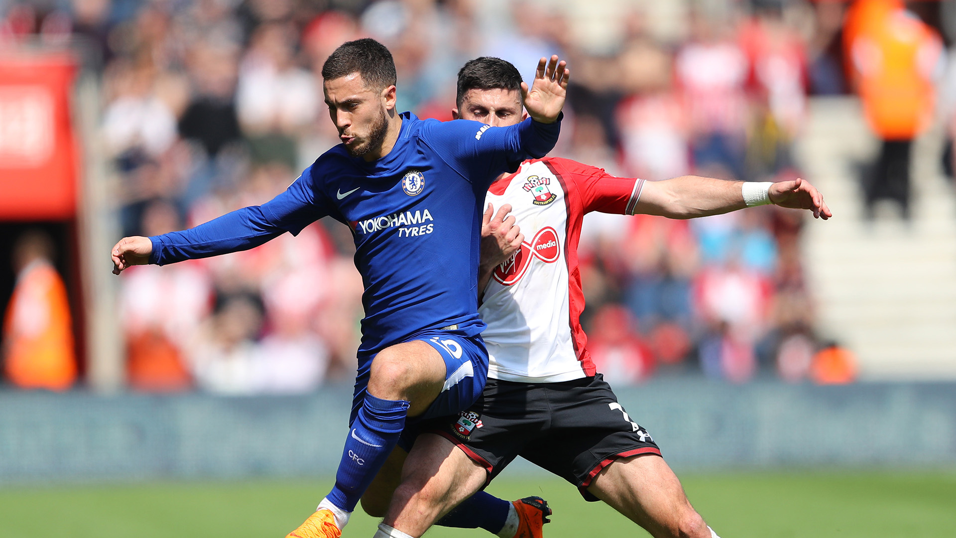 Eden Hazard Southampton Chelsea Premier League