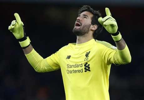Alisson tops Mascherano to make Liverpool history