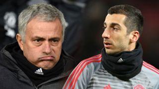 Jose Mourinho, Henrikh Mkhitaryan, Man Utd