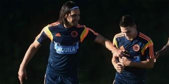 Radamel Falcao &  Juan Fernando Quintero