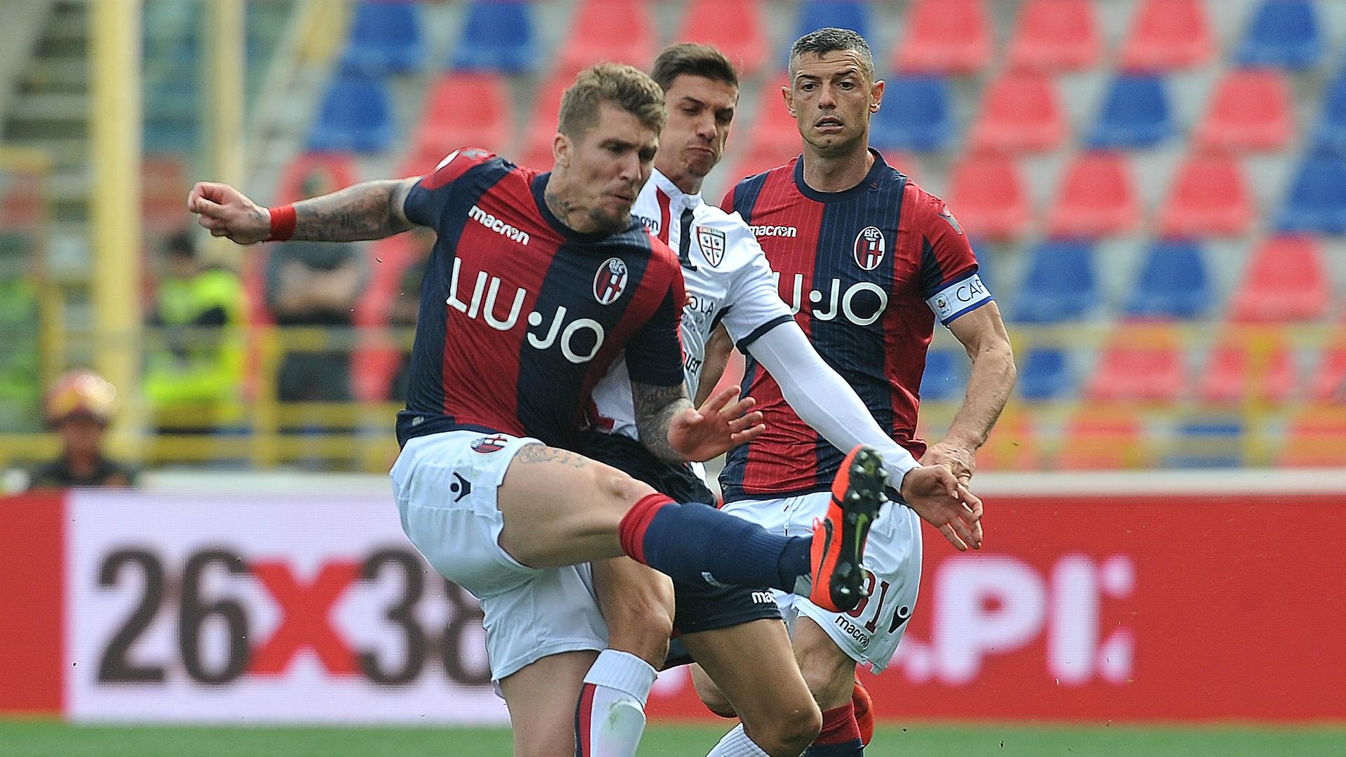 Evangelista Lyanco Bologna Cagliari Serie A 03102019