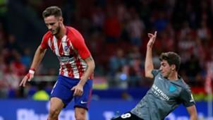 Saul Niguez Alejandro Mula Atletico de Madrid Malaga LaLiga 16092017