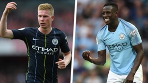 Kevin De Bruyne Benjamin Mendy Man City Split