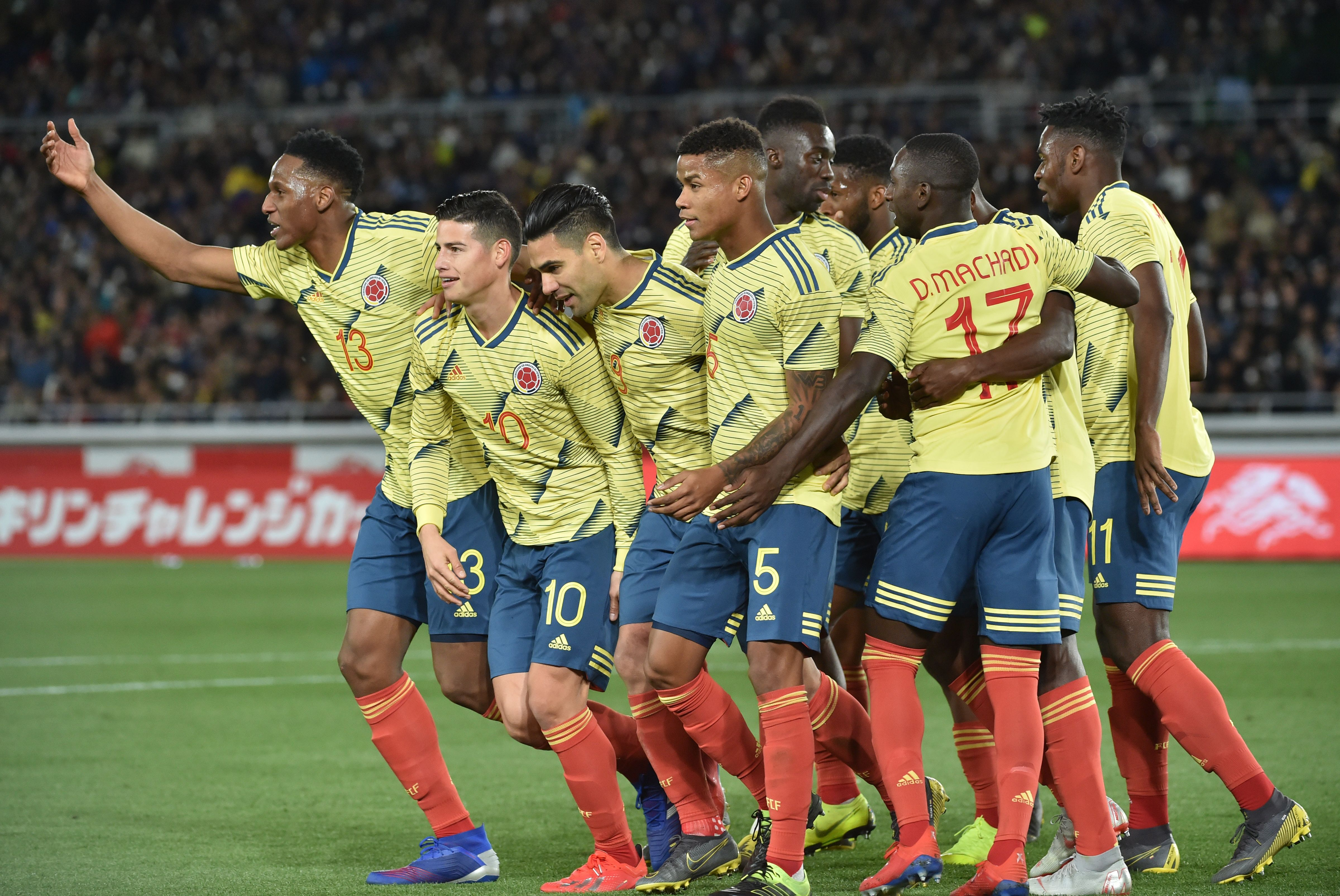 Colombia gol vs Japon 2019